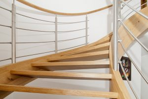 Open Tread Geometric Staircases   Contemporary stairs