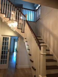Traditional Painted / Stained Stairs Melbourne
