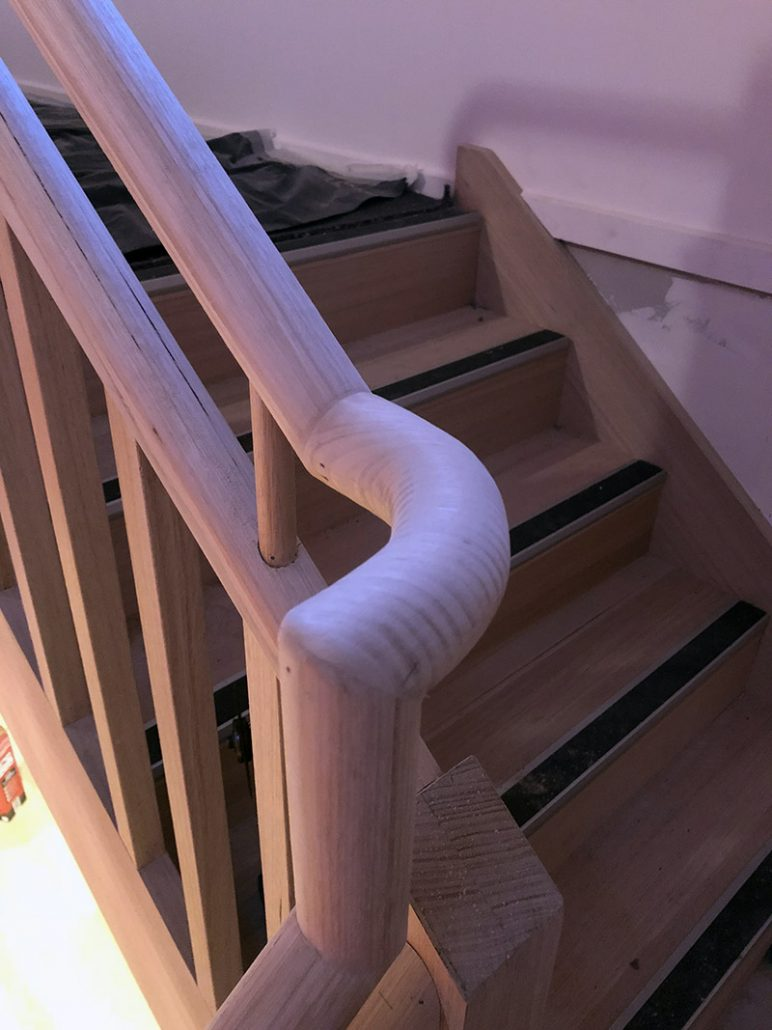 Hand Crafted Timber Hand Rails melbourne
