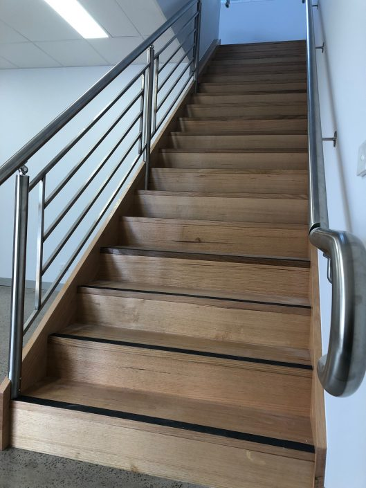 Commercial Hand Rails and Staircases